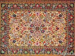 Натуральные ковры ручной сборки СССР под заказ