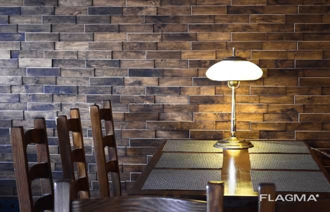 3В oak wood wall panels