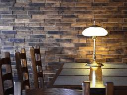 3В oak wood wall panels