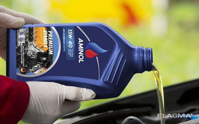 Aminol lubricating OIL Azerbaijan Baku