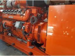 Б/У газовый двигатель Guascor SFGLD 360, 600 Квт, 2000 г. в. - фото 1