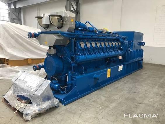 Б/У газовый двигатель MWM TCG 2020 V20, 2000 Квт, 2012 г. в.