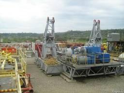 Drilling rig. Бурильная установка Ф 200ЕС- Станок 862