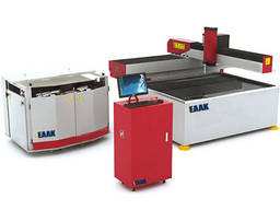 China CNC waterjet cutting machine for cut glass stone metal