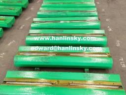 Chrome and Martensitic Blow Bars for McClosky I34 / I44v3 / I44RV3 / I54v3 Impact Crushers