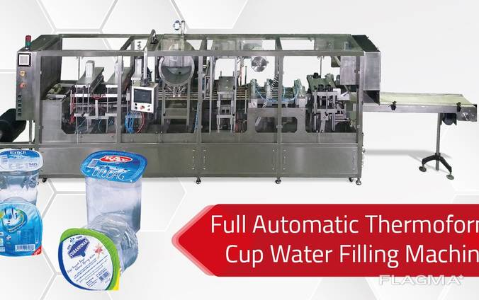Thermoform Water Filling Machine