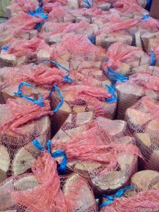 Дрова колотые (сетка 20 литров ) ПОД ЗАКАЗ