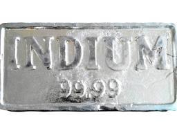 سبائك الإنديوم | معدن انديوم ماركة InOO GOST 10297-94 indium