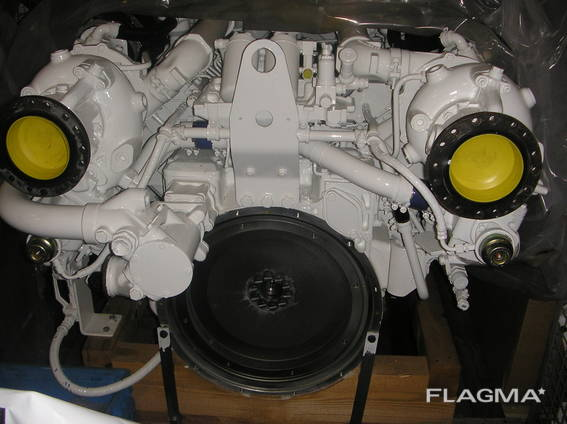 MAN D2842LE406 1200hp at 1200rpm. REMANUFACTURED marine engines