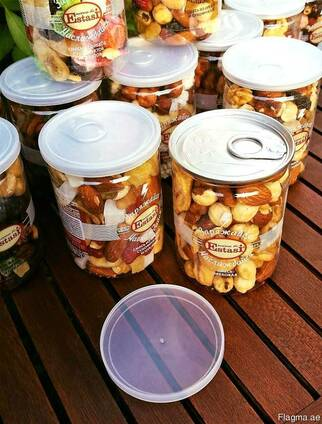 Мед с орехами и сухофруктами