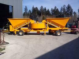 Мобильный бетонный завод Sumab LT 1200 (40 м3/час) Швеция - фото 3