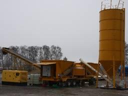 Мобильный бетонный завод Sumab LT 1200 (40 м3/час) Швеция - фото 7