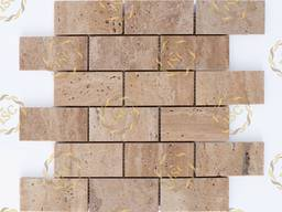 Mosaic made of natural stones