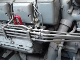 MTU 12V396 TC82 marine propulsion engines from hydrofoil vessel