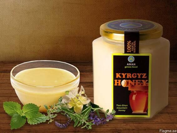 """Natural white honey """"Kyrgyz Honey"""""""