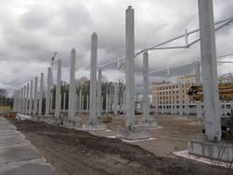 Оборудование для производства бетонных колонн большой длины. - фото 3