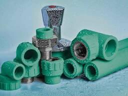 Полипропиленовые трубы со стекловолокном PN20 SDR7.4