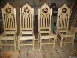 Резная мебель - фото 5