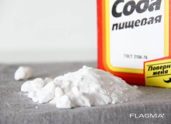 Сода пищевая марка А ГОСТ – 2156-76 мешки по 25-50 кг