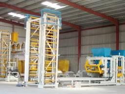 Стационарная блок-машина (вибропресс) Sumab R-500 автомат